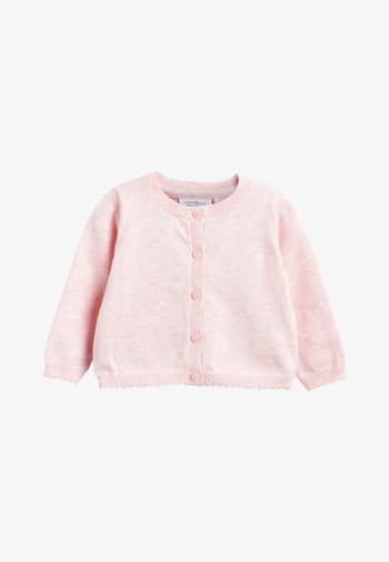PINK/WHITE 2 PACK CARDIGANS (0MTHS-3YRS)