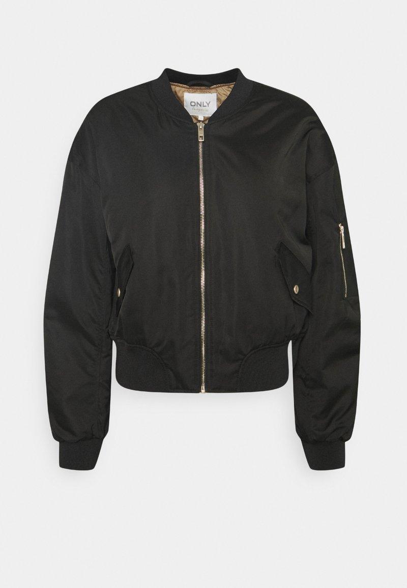 ONLY - SPRING  - Bomber Jacket - black/elmwood