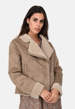 OLGA - Light jacket - gray taupe