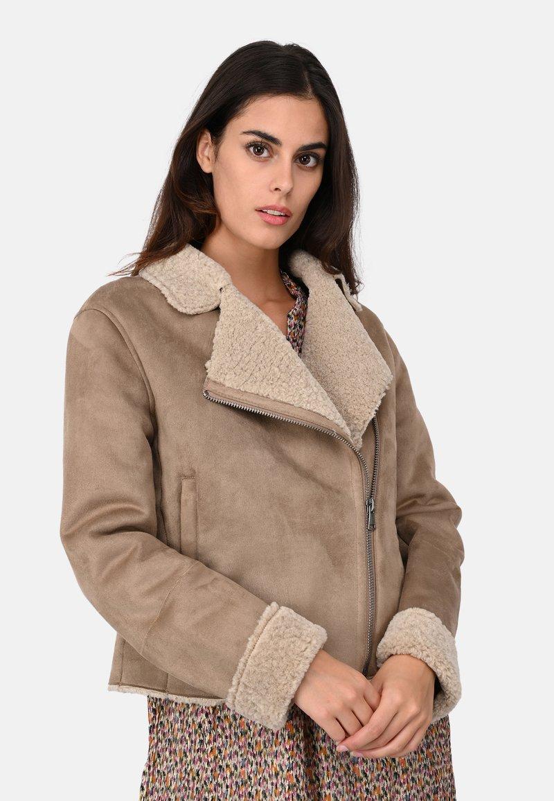Oakwood - OLGA - Light jacket - gray taupe