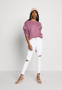 Missguided - WASHED - Sweatshirt - purple - 1