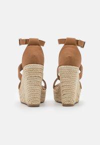 Rubi Shoes by Cotton On - BRADY WEDGE  - Platform sandals - tan - 3