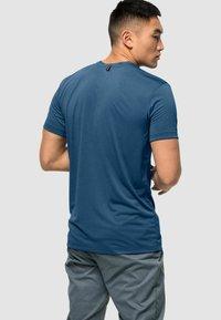 Jack Wolfskin - JWP T M - Basic T-shirt - indigo blue - 1
