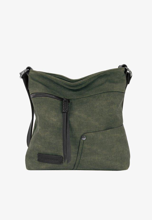 DEBORAH - Across body bag - oliv 960