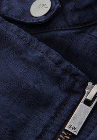 Sandwich - Faux leather jacket - blue - 4