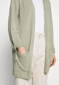 Esprit - UTILITY FINE - Cardigan - khaki green - 3