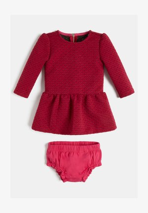 Jumper dress - dunkelrosa