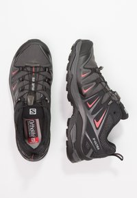 Salomon - X ULTRA 3 GTX  - Hiking shoes - magnet/black/mineral red - 1