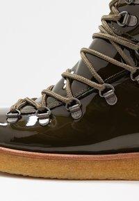 ANGULUS - Lace-up ankle boots - khaki - 2