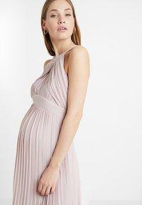 TFNC Maternity - EXCLUSIVE PRAGUE DRESS - Occasion wear - new mink - 3