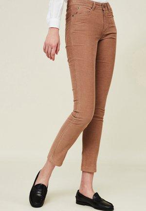 ZOE - Trousers - light brown