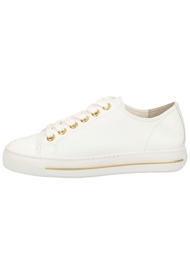 PAUL GREEN SNEAKER - Sneakersy niskie - weiß 016
