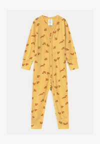 Lindex - ONESIES BABY SQUIRREL UNISEX - Pyjamas - dusty yellow - 0