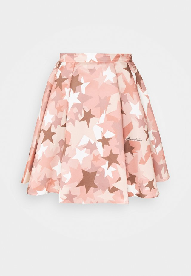 WOMEN'S SKIRT - Jupe trapèze - rose gold