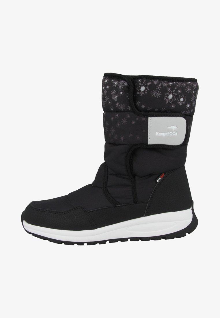 KangaROOS - K-FLUFF RTX - Winter boots - black