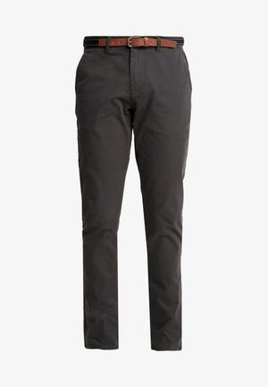 SLHSLIM JAMERSON - Chino kalhoty - forged iron