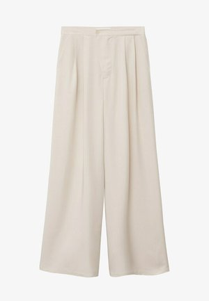 MOMA-A - Pantalon classique - ecru