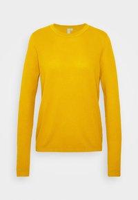 Jersey de punto - golden yellow