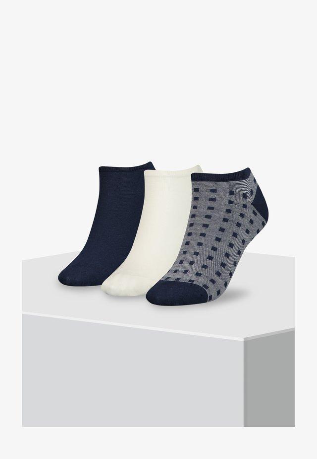 SNEAKER 3PACK - Trainer socks - dark navy