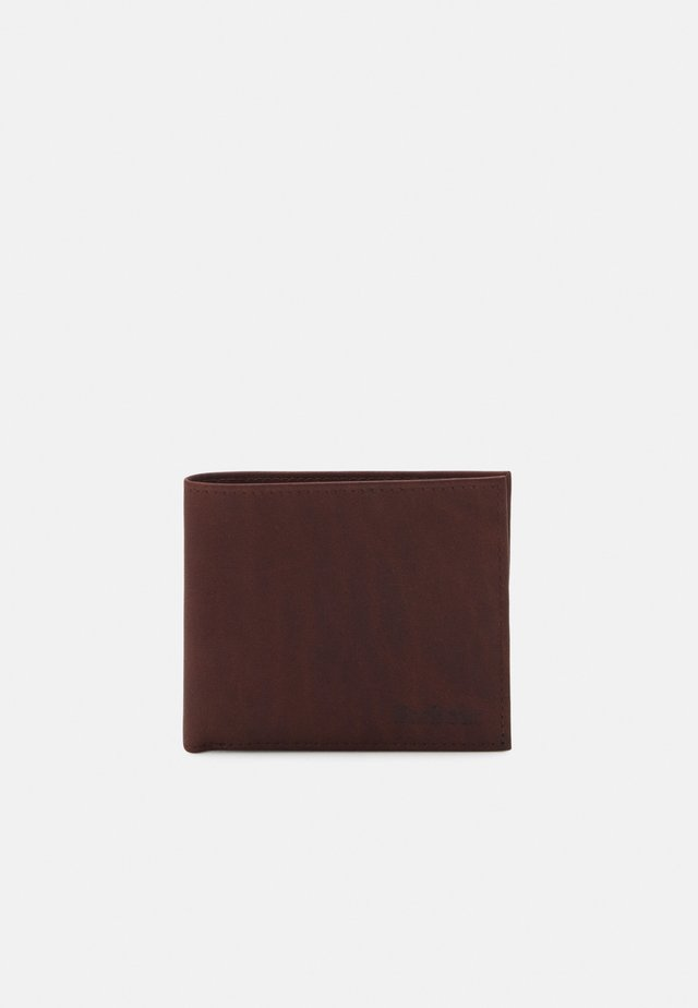 BILLFOLD UNISEX - Portemonnee - dark brown