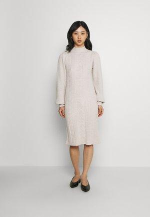 OBJMAKENZY DRESS - Jumper dress - silver gray