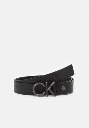 PLUS METAL - Belt - black