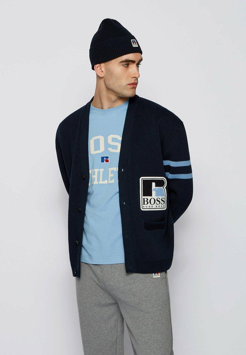 BOSS - Cardigan - dark blue