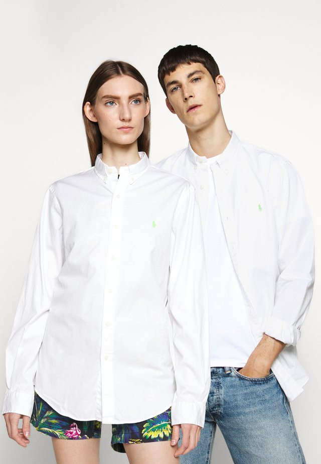 CHINO - Camisa - white