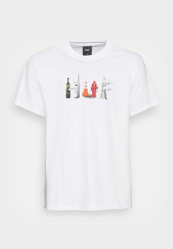 OBJECTIFIED TEE - Print T-shirt - white