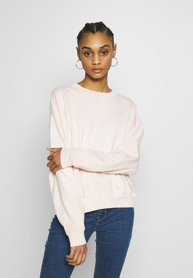 DIANA CREW - Sweatshirt - blush