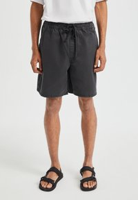 PULL&BEAR - Shorts - black - 0