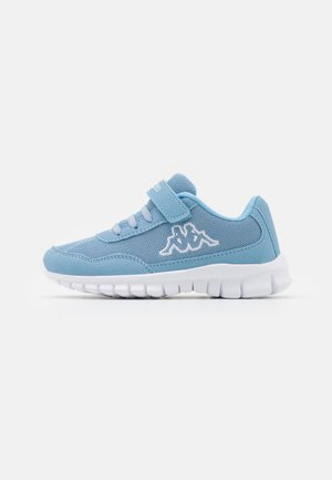 FOLLOW UNISEX - Sports shoes - light blue/white