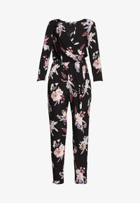 Wallis Tall - MAGNOLIA FLORAL 3/4 SLEEVE - Haalari - black - 4