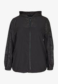 Active by Zizzi - Summer jacket - black - 0