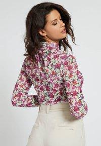 Guess - CLOUIS  - Button-down blouse - mehrfarbe rose - 2