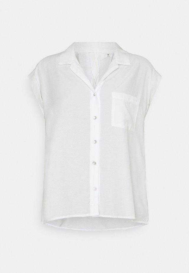 EMMA - Skjortebluser - ecru