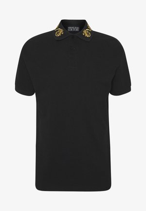 BAROQUE COLLAR GOLD - Polo shirt - black