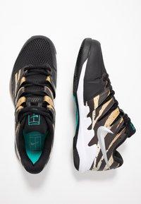 Nike Performance - AIR ZOOM VAPOR X - Allcourt tennissko - wheat/metallic silver/hyper jade/desert ore/black/white - 1