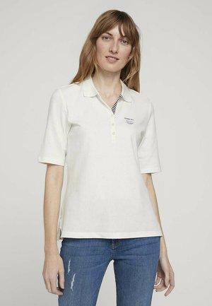 Polo shirt - whisper white