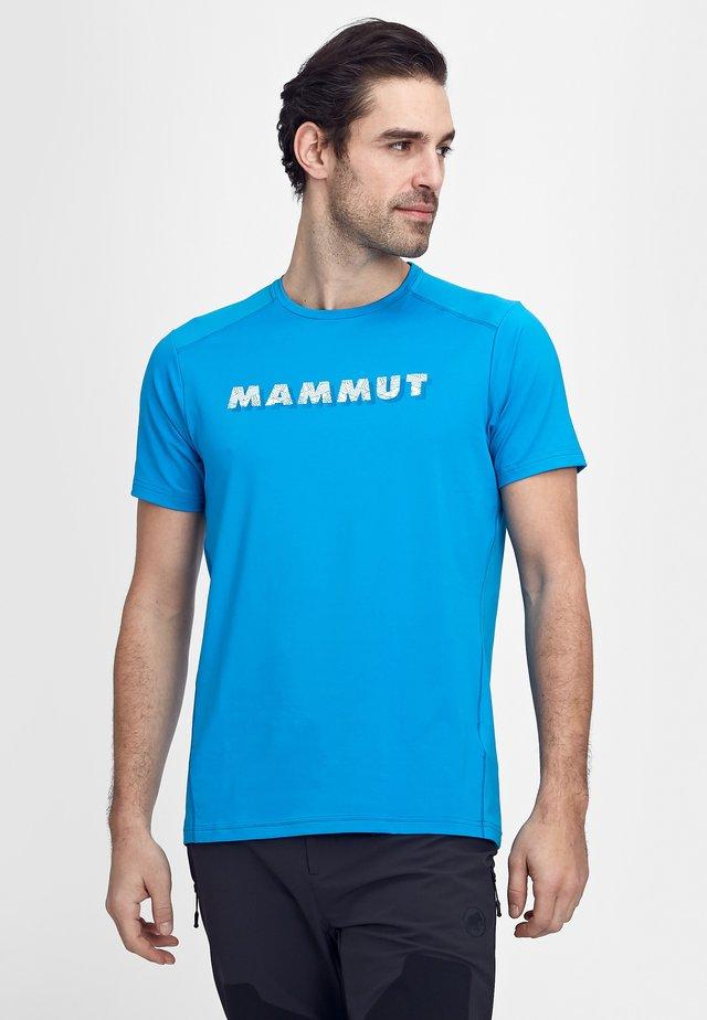 SPLIDE - T-shirts med print - gentian