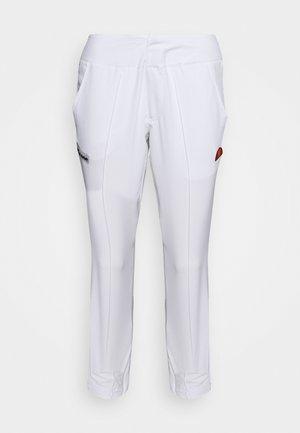 CHAMP - Teplákové kalhoty - white