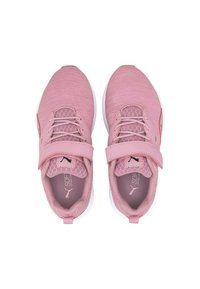 Puma - NRGY COMET PRESCHOOL UNISEX - Trainers - pale pink-black-white - 1