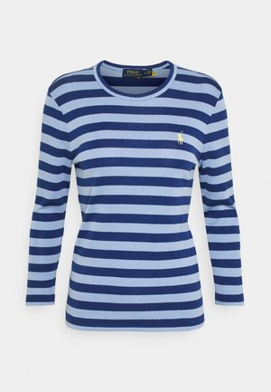 STRIPE LONG SLEEVE - Top s dlouhým rukávem - chambray blue