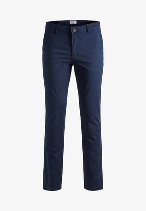 MARCO BOWIE - Chinos - navy