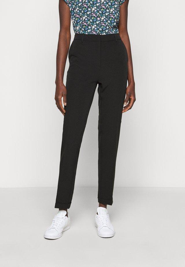 ONLHILDIE HALDIS PANT - Spodnie materiałowe - black