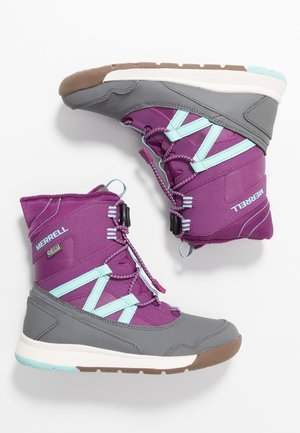 SNOW CRUSH WTRPF - Snowboot/Winterstiefel - purple/turq