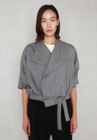 jeeij - BATWING  - Blazer - light grey - 0
