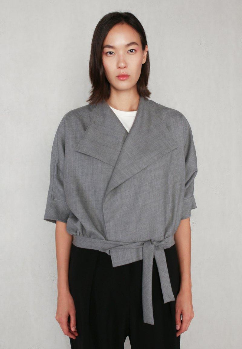 jeeij - BATWING  - Blazer - light grey