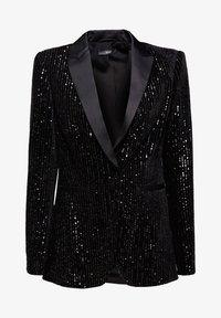 Esprit Collection - MIT PAILLETTEN - Blazer - black - 8