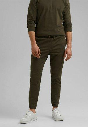 FASHION - Trousers - dark khaki